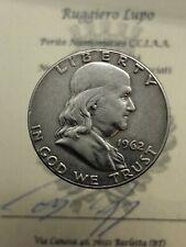 America - États Uni Franklin Moitié 1/2 Dollar 1962 Philadelphia Km