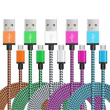 2X1M Micro USB Kabel Ladekabel Datenkabel Handy Tablet Samsung HTC LG Huawei