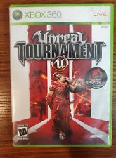 Unreal Tournament II  2 - Microsoft Xbox 360 Tested and Complete CIB