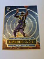 2019-20 LeBron James Donruss Optic T-Minus 3,2,1 #9 Lakers
