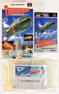 THUNDERBIRDS Nintendo Super Famicom SFC SNES Jap Japan