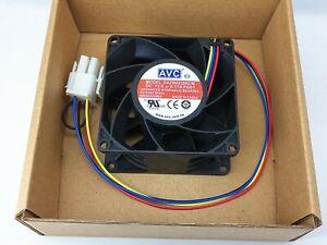 AVC DAZB0838RCM-PG01 8038 80mm 13.6V 0.17A 8CM 4-wire temperature control fan
