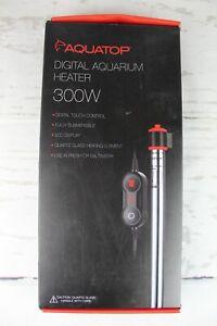 Aquatop  EX-300 Digital Aquarium Heater with Display 300 Watt 80 Gallons Unused