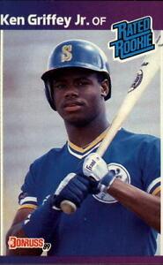1989 Donruss #33 Ken Griffey Jr. RR RC GAI 8 NM-MT