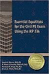 Essential Equations for the Civil PE Exam Using the Hp 33s, Wolle MSE  PE, Bruce