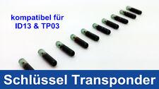 Auto Schlüssel Transponder für AUDI FIAT KIA Honda kompatibel für  ID13 &TP03