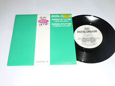"DIGITAL ORGASM - Running Out Of Time - 1991 UK 2-track 7"" Vinyl Single"