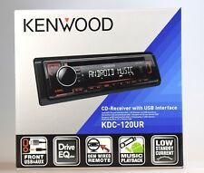 Kenwood Kdc-120ur Auto Radio Usb/mp3/aux - 4x50 W