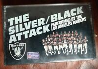 The Los Angeles Raiders The Silver / Black Attack CASSETTE TAPE 1986 NEW WRAPPED