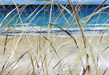 Byron Bay Seascape Beach Art Painting Print sand sea Canvas Andy Baker Australia