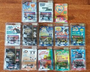 NASCAR Diecast 1/64 Lot - 13 Cars 1998 & 1999 Original Action Packaging