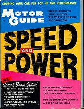Motor Guide Magazine September 1958 Speed Power VG No ML 052617nonjhe