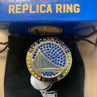 "2017 Golden State Warriors NBA 5X Championship Replica Ring. Condition is ""NIB"""