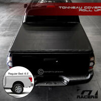 For 2016-2019 Nissan Titan/XD 6.5 Ft Bed Lock & Roll Up Soft Vinyl Tonneau Cover