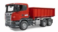 BRUDER 3522 Scania R-Series camion container ribaltabile