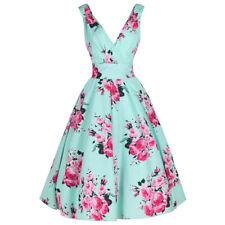 Polyester Plus Size Sleeveless Dresses for Women