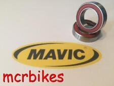 MAVIC CROSSRIDE FRONT QR WHEEL HUB BEARINGS CHROME STEEL GREASE FILLED