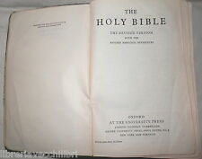 THE HOLY BIBLE The revised version with the Revised Marginal References Oxford