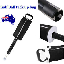 Golf Shag Bag Pick Up Golf Ball Storage Retriever Collector Holds 60 Balls  ON