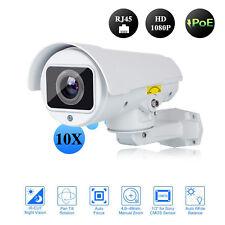 POE New 2MP Mini PTZ 10x Optics Zoom IP Camera P2P IR Contains bracket 1080P