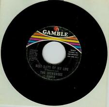 INTRUDERS BEST DAYS OF MY LIFE / PRAY FOR ME US GAMBLE ORIGINAL ISSUE