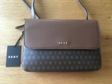 stunning ladies genuine DKNY bag crossover bag coated bnwt