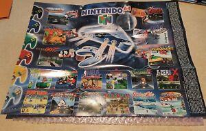 Nintendo 64 Gameboy Poster Leaflet Advert