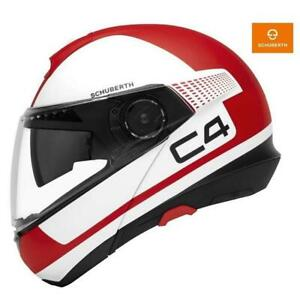Helmet Modular Integral Schuberth C4 Legacy Red Fiber Glass
