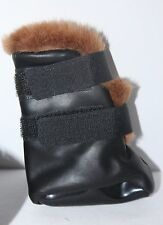 NEW Companion Road Pleather DOG Booties---Small