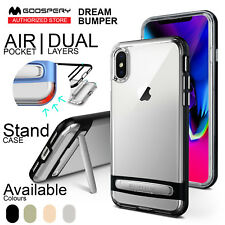 iPhone X 8 7 6 Plus Case Mercury Ultra Hybrid Bumper Shockproof Cover for Apple