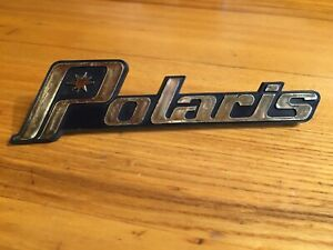 NOS Vintage Polaris Hood Emblem 82 83 TXL 340 TXC Centurion 500 600 Indy