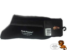 HUSH PUPPIES Black Socks With Pattern