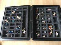 énorme lot 42 figurines WARHAMMER - dans valise Games Workshop