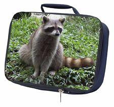 Racoon Lemur Navy Insulated School Lunch Box Bag, ARL-1LBN