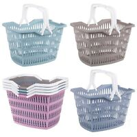 Picnic Basket Willy Laundry Washing With Carrying Handles Home Bathroom Park 30L