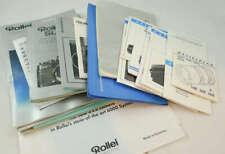 Hasselblad Rolleiflex Misc Photo Brochure Manual Lot
