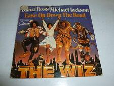 "DIANA ROSS & MICHAEL JACKSON - Ease On Down The Road - 1978 UK 7"" vinyl single"