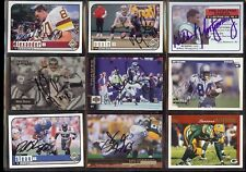 AMANI TOOMER New York Giants 1997 Upper Deck SIGNED / AUTOGRAPH Football Card
