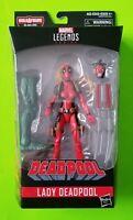 """Marvel Legends 6"""" Lady Deadpool Action Figure (BAF Sauron) - NEW/SEALED"""
