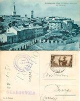 Cartolina di Guadagnolo (Capranica Prenestina), panorama - Roma, 1933