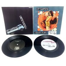 "2 VINYL LOT stylefire import italian lofi rocknroll garage punk rock 7""s"