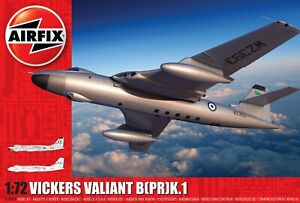 New Release Airfix A11001A 1:72nd Scale Vickers Valiant B(PR)K.1 Model.