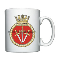 HMS Vengeance  -  Royal Navy - Personalised Mug