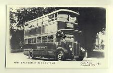 pp1206 - M547, East Surrey AEC Route 409 - Pamlin postcard