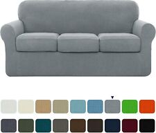 Subrtex High Stretch Slipcover With Separate Cushion Cove Couch Sofa Covers