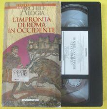 VHS film L'IMPRONTA DI ROMA IN OCCIDENTE I segreti dell'archeologia (F107)no dvd