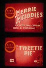 """16MM SOUND-""""TWEETY PIE""""-1947 MERRIE MELODIES CARTOON-ACADEMY AWARD WINNER!"""