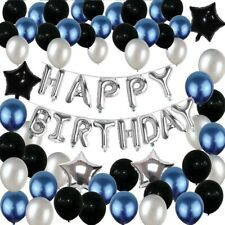 Happy Birthday Decorations Set for Men and Women, Birthday Party Supplies, Kit.