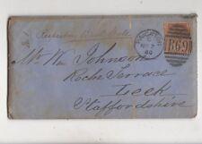 Paignton [C] Duplex Postmark 2 Nov 1880 Cover + Letters WD Ainger 473b