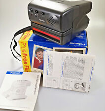 Polaroid 636 Instant Talking Camera with box & instruction 600 film Tested/VGC